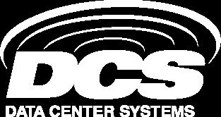 white DCS logo